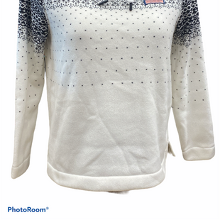 Primary Photo - BRAND: VINEYARD VINES STYLE: FLEECE COLOR: WHITE BLUE SIZE: S OTHER INFO: NEW! MSRP $128 SKU: 206-20618-93606