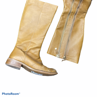Primary Photo - BRAND: TAHARI STYLE: BOOTS KNEE COLOR: TAN SIZE: 7.5 OTHER INFO: AS IS SKU: 206-20693-5587