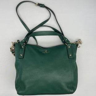 Primary Photo - BRAND: KATE SPADE STYLE: HANDBAG DESIGNER COLOR: GREEN SIZE: LARGE SKU: 206-20664-12532