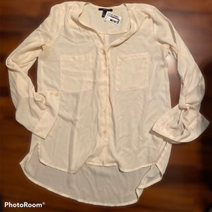 Primary Photo - BRAND: FOREVER 21 STYLE: TOP LONG SLEEVE COLOR: PEACH SIZE: S SKU: 206-20664-9981