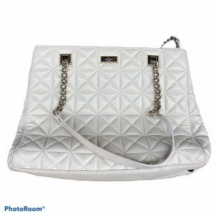 Primary Photo - BRAND: KATE SPADE STYLE: HANDBAG DESIGNER COLOR: IVORY SIZE: LARGE SKU: 206-20664-10934