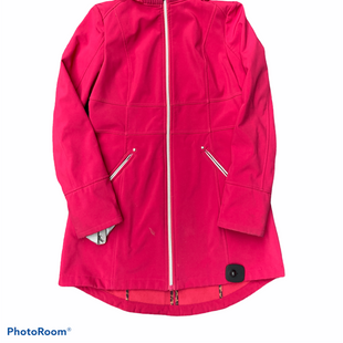 Primary Photo - BRAND: BETSEY JOHNSON STYLE: JACKET OUTDOOR COLOR: PINK SIZE: S SKU: 206-20618-91748