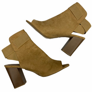 Primary Photo - BRAND:    CLOTHES MENTOR STYLE: BOOTS ANKLE COLOR: TAN SIZE: 11 OTHER INFO: PENNY LOVES KENNY - SKU: 206-20689-9599