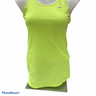 Primary Photo - BRAND: NIKE APPAREL STYLE: ATHLETIC TANK TOP COLOR: NEON SIZE: S SKU: 206-20684-3008