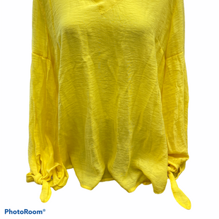 Primary Photo - BRAND: ANTHROPOLOGIE STYLE: TOP LONG SLEEVE COLOR: YELLOW SIZE: XL SKU: 206-20693-8677