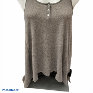 Primary Photo - BRAND: FREE PEOPLE STYLE: TOP SLEEVELESS BASIC COLOR: BROWN SIZE: S SKU: 206-20684-3015