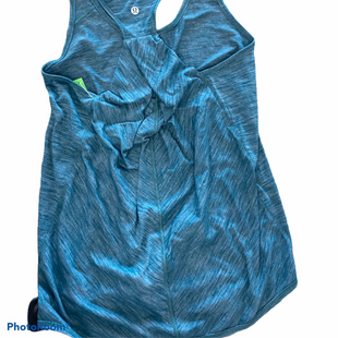 Primary Photo - BRAND: LULULEMON STYLE: ATHLETIC TANK TOP COLOR: GREEN SIZE: S SKU: 206-20618-91269