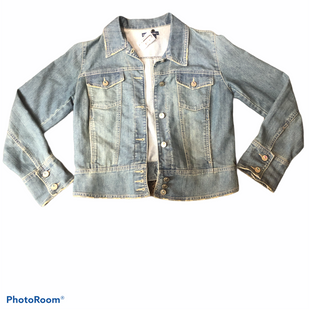 Primary Photo - BRAND: BANDOLINO STYLE: JACKET OUTDOOR COLOR: DENIM SIZE: L SKU: 206-20693-4520