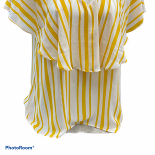 Primary Photo - BRAND: CATO STYLE: TOP SHORT SLEEVE COLOR: YELLOW SIZE: L SKU: 206-20664-12472