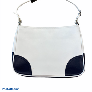 Primary Photo - BRAND: COACH STYLE: HANDBAG DESIGNER COLOR: WHITE BLUE SIZE: SMALL OTHER INFO: AS IS SKU: 206-20693-7388