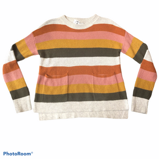Primary Photo - BRAND: MADEWELL STYLE: SWEATER HEAVYWEIGHT COLOR: MULTI SIZE: S SKU: 206-20693-4611