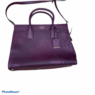 Primary Photo - BRAND: KATE SPADE STYLE: HANDBAG DESIGNER COLOR: PURPLE SIZE: LARGE SKU: 206-20693-6558