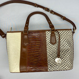 Primary Photo - BRAND: BRAHMIN STYLE: HANDBAG DESIGNER COLOR: BROWN SIZE: MEDIUM SKU: 206-20664-12514