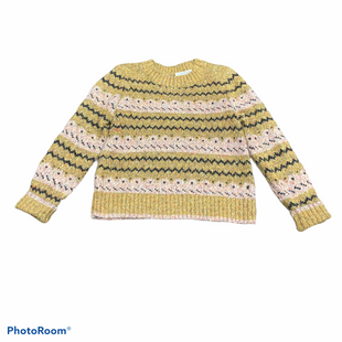 Primary Photo - BRAND: LOFT STYLE: SWEATER LIGHTWEIGHT COLOR: MUSTARD SIZE: L SKU: 206-20618-90306