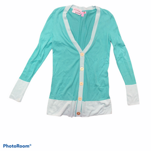 Primary Photo - BRAND: LILLY PULITZER STYLE: SWEATER CARDIGAN LIGHTWEIGHT COLOR: MINT SIZE: M SKU: 206-20664-10296