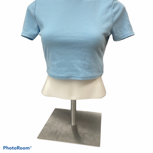 Primary Photo - BRAND: TOBI STYLE: TOP SHORT SLEEVE COLOR: BLUE SIZE: M SKU: 206-20684-3037