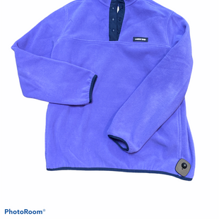 Primary Photo - BRAND: LANDS END STYLE: FLEECE COLOR: PURPLE SIZE: M SKU: 206-20618-87029