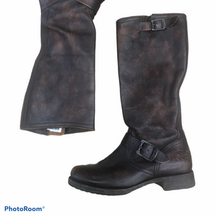 Primary Photo - BRAND: FRYE STYLE: BOOTS DESIGNER COLOR: BROWN SIZE: 8 SKU: 206-20618-88041