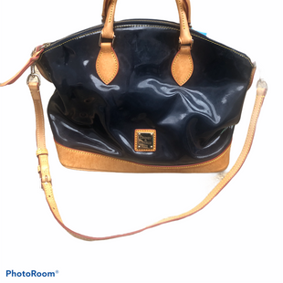 Primary Photo - BRAND: DOONEY AND BOURKE STYLE: HANDBAG DESIGNER COLOR: NAVY SIZE: MEDIUM SKU: 206-20618-87327