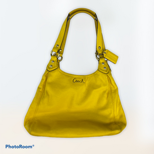 Primary Photo - BRAND: COACH STYLE: HANDBAG DESIGNER COLOR: YELLOW SIZE: SMALL SKU: 206-20618-95799