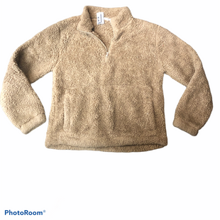 Primary Photo - BRAND: GAP STYLE: FLEECE COLOR: BROWN SIZE: S SKU: 206-20639-11857