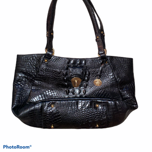 Primary Photo - BRAND: BRAHMIN STYLE: HANDBAG DESIGNER COLOR: BLACK SIZE: MEDIUM OTHER INFO: STAIN/INSIDE/AS IS SKU: 206-20664-10013