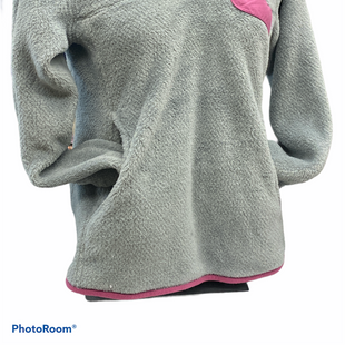 Primary Photo - BRAND: PATAGONIA STYLE: FLEECE COLOR: GREY SIZE: S SKU: 206-20618-93938