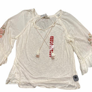 Primary Photo - BRAND: VINTAGE AMERICA STYLE: TOP LONG SLEEVE COLOR: CREAM SIZE: XL SKU: 206-20618-87069