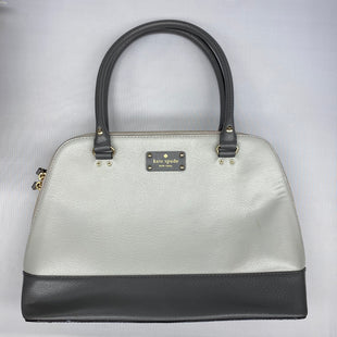Primary Photo - BRAND: KATE SPADE STYLE: HANDBAG DESIGNER COLOR: GREY SIZE: LARGE SKU: 206-20664-12529