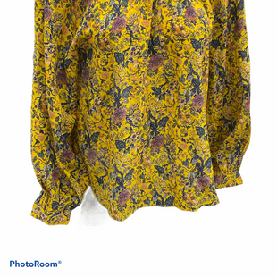 Primary Photo - BRAND: MADEWELL STYLE: TOP LONG SLEEVE COLOR: YELLOW SIZE: S SKU: 206-20664-12581