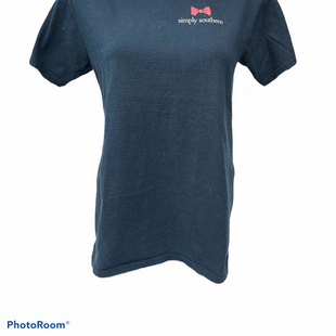 Primary Photo - BRAND: SIMPLY SOUTHERN STYLE: TOP SHORT SLEEVE COLOR: NAVY SIZE: S SKU: 206-20664-11501
