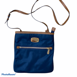 Primary Photo - BRAND: MICHAEL KORS STYLE: HANDBAG DESIGNER COLOR: NAVY SIZE: SMALL SKU: 206-20694-19