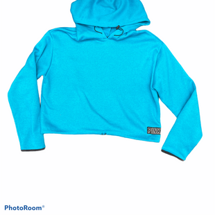 Primary Photo - BRAND: PINK STYLE: SWEATSHIRT HOODIE COLOR: BLUE SIZE: M SKU: 206-20693-5804