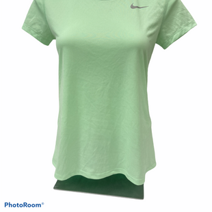 Primary Photo - BRAND: NIKE APPAREL STYLE: ATHLETIC TOP SHORT SLEEVE COLOR: GREEN SIZE: S SKU: 206-20684-2993