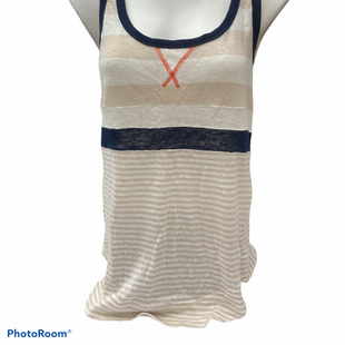 Primary Photo - BRAND: TORY BURCH STYLE: TOP SLEEVELESS COLOR: CREAM SIZE: XL SKU: 206-20693-8570