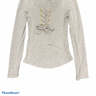 Primary Photo - BRAND: FREE PEOPLE STYLE: TOP LONG SLEEVE COLOR: GREY SIZE: XS SKU: 206-20664-11655