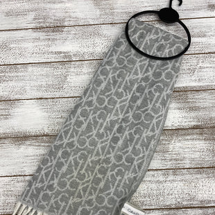 Primary Photo - BRAND: CALVIN KLEIN STYLE: SCARF WINTER COLOR: GREY SKU: 206-20687-737