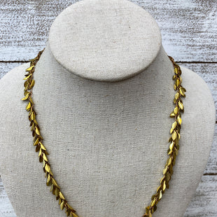 Primary Photo - BRAND: ANTHROPOLOGIE STYLE: NECKLACE COLOR: GOLD SKU: 206-20618-88450