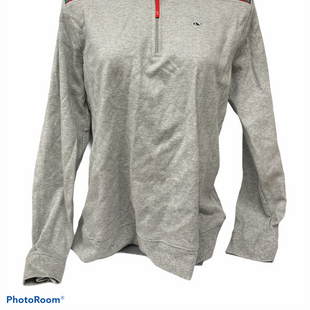 Primary Photo - BRAND: VINEYARD VINES STYLE: TOP LONG SLEEVE COLOR: GREY SIZE: L SKU: 206-20618-93279