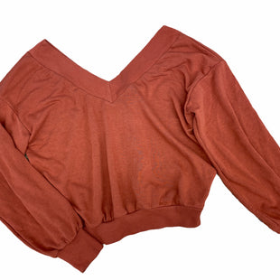 Primary Photo - BRAND: FOREVER 21 STYLE: SWEATER LIGHTWEIGHT COLOR: RUST SIZE: S SKU: 206-20693-6138