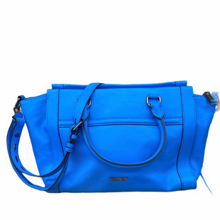 Primary Photo - BRAND: REBECCA MINKOFF STYLE: HANDBAG DESIGNER COLOR: BLUE SIZE: LARGE SKU: 206-20689-7679