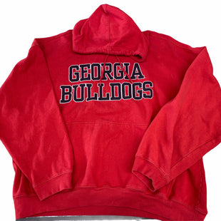 Primary Photo - BRAND: PRO PLAYER STYLE: SWEATSHIRT HOODIE COLOR: RED SIZE: 2X OTHER INFO: GA BULLDOGS SKU: 206-20689-9569