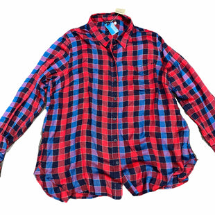 Primary Photo - BRAND: LUCKY BRAND STYLE: TOP LONG SLEEVE COLOR: PLAID SIZE: XL SKU: 206-20639-12084