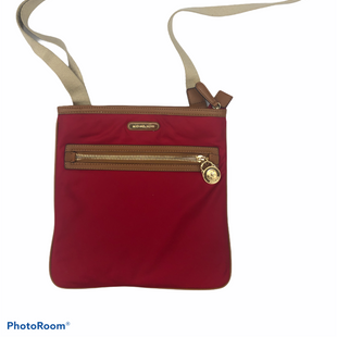 Primary Photo - BRAND: MICHAEL KORS STYLE: HANDBAG DESIGNER COLOR: RED SIZE: SMALL SKU: 206-20618-89825