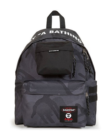 "A BATHING APE BAPE X EASTPAK BACKPACK ""BLACK CAMO"" - Sz O/S"
