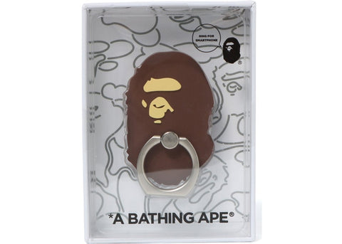 "BAPE SMART PHONE RING ""BROWN"" - Sz O/S"
