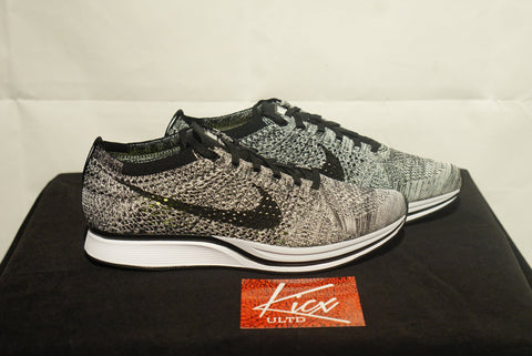 "FLYKNIT RACER ""COOKIES AND CREAM"" - Sz 8"