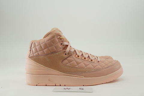 "AIR JORDAN 2 RETRO JUST DON GG ""ARCTIC ORANGE"" - Sz 6y"