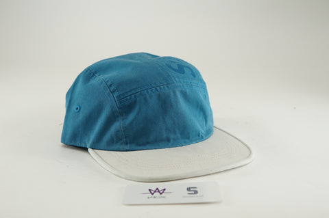 "SUPREME TWO TONE CAMP CAP ""TEAL/GREY"" - Sz O/S"