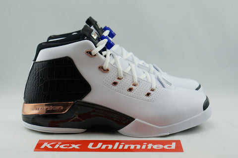 "AIR JORDAN 17+ RETRO ""COPPER"" - Sz 9.5"